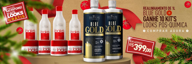 Blue Gold + 4 kit looks Grátis